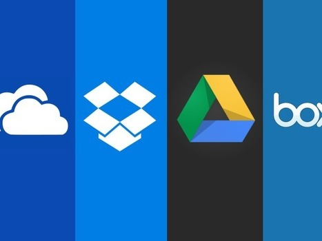 OneDrive, Dropbox, Google Drive, and Box: Which cloud storage service is right for you? - CNET | Educational technology , Erate, Broadband and Connectivity | Scoop.it