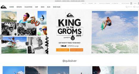 Quiksilver face à la vague du digital | e-commerce  - vers le shopping web 3.0 | Scoop.it