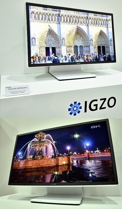 Sharp Introducing a 27 Inch 8K Monitor | 3D Smart LED TV | Scoop.it