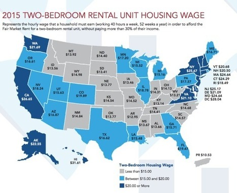 How much you need to make per hour to afford a rental in the U.S. | Real Estate Plus+ Daily News | Scoop.it