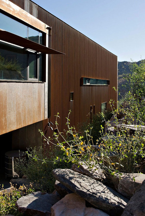 Extreme Peacefulness: The Modern Jarson Residence in Arizona | sustainable architecture | Scoop.it