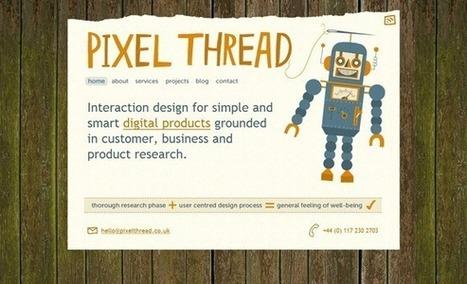 45 simples y llamativos diseños de agencias de diseño web - CSSBlog ES | Diseño y Creatividad | Scoop.it