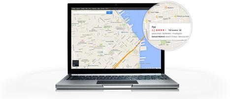 Google Maps 2013… toujours plus touristique « Etourisme.info | E-Tourisme Mobile | Scoop.it