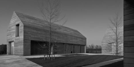 Maison bois au caractère contemporain sans fioritures au cœur de la Belgique | Maison ossature bois écologique | Scoop.it
