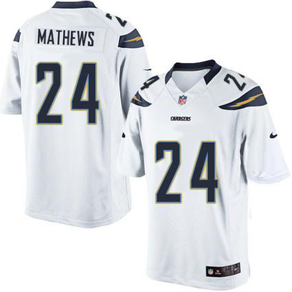Mens Ryan Mathews Jersey-Mens Nike San Diego Chargers #24 Ryan Mathews Limited White NFL Jersey | Ryan Mathews Jersey | Scoop.it