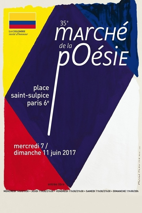 (agenda) 7 au 11 juin 2017, Paris, Marché de la poésie | Poezibao | Scoop.it