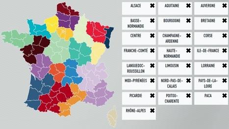 Jouez à composer votre carte des régions | Cartes et Insolites | Scoop.it