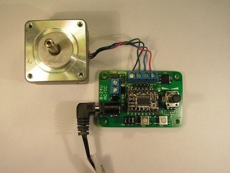 Easy Stepper motor controller | arduino | Scoop.it