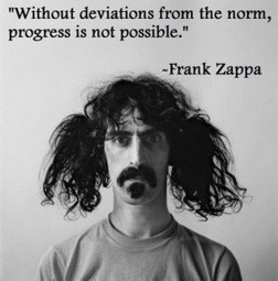Frank Zappa Showing How To Deviate From The Norm | Creativity Tools and Techniques | Scoop.it