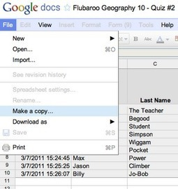 Try Flubaroo - to automatically mark google forms (aka assignments!) | e-learning in schools | Scoop.it