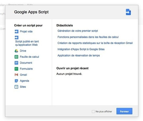 Automatisation de Gmail : 5 scripts utiles pour automatiser le webmail de Google | Time to Learn | Scoop.it