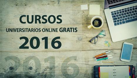 Cursos universitarios online gratis que inician en 2016 | Profesión Palabra: oratoria, guión, producción... | Scoop.it