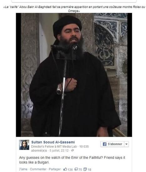Whatsupic - Première Apparition d'Al-Baghdadi: Sa Montre Intrigue les Internautes | Toutes les choses | Scoop.it