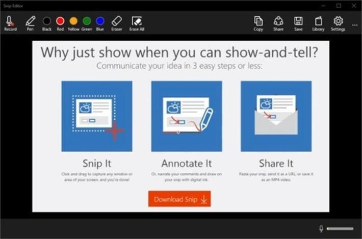 Microsoft Snip : un nouvel outil pour faire des captures d'écran, les annoter et les partager - Blog du Modérateur | TIC et TICE mais... en français | Scoop.it