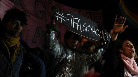 Centenas em protesto contra Mundial 2014 | Mundial 2014 | Scoop.it