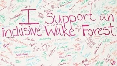 Building community - Wake Forest University News Center | Peer2Politics | Scoop.it