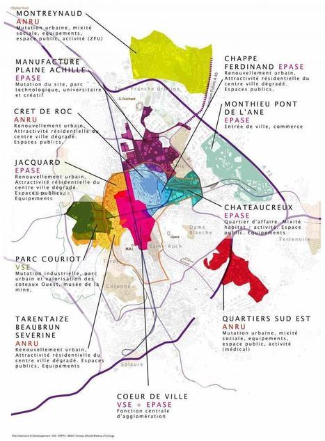 Tout savoir sur le projet urbain de Saint-Étienne   Site Internet de la ville de Saint-Etienne   Projet urbain   Scoop.it