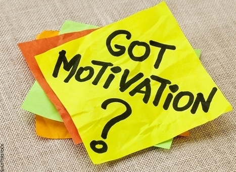 Do These 7 Things to Get (and Stay) Motivated | Executive Coaching Growth | Scoop.it