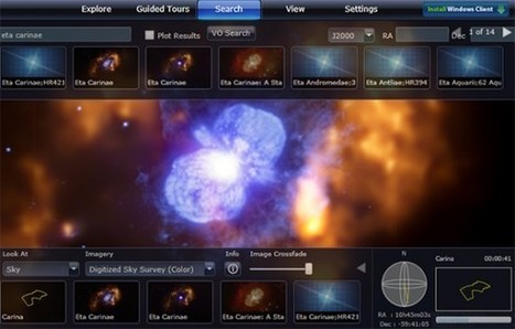 Microsoft Worldwide Telescope brings the universe to your computerrr | Computer Programs | Scoop.it