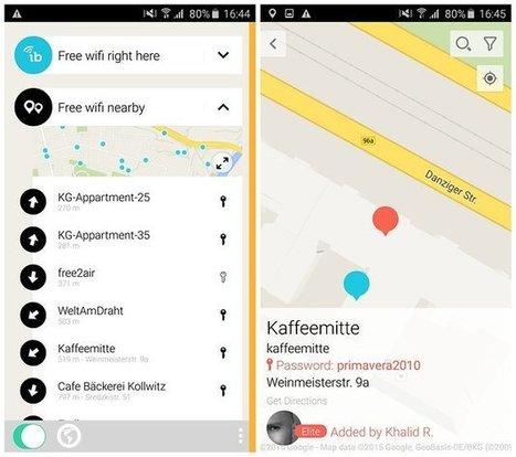 Instabridge : le wifi gratuit, partout, pour tous - AndroidPIT | Gestion de l'information | Scoop.it