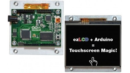 ArduinoLCD lets tinkerers add a touchscreen to their projects - Gizmag | Big and Open Data, FabLab, Internet of things | Scoop.it