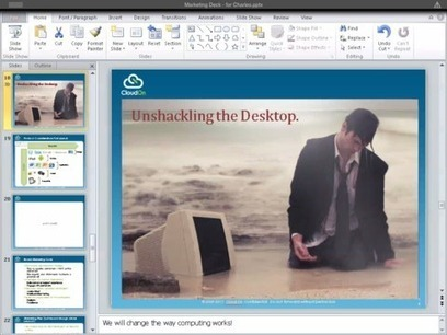 CloudOn Brings Free Cloud-Hosted Microsoft Office Functionality to iPad   Cloudon   Scoop.it