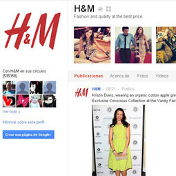 Cómo H&M logró convertirse en la #Marca número uno en #GooglePlus | Management & Leadership | Scoop.it