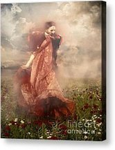 Storm Dancer Painting by Zeana Romanovna - Storm Dancer Fine Art Prints and Posters for Sale | Romanovna-Art-Prints | Scoop.it
