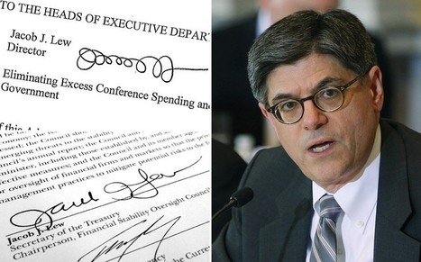 Treasury Secretary Jack Lew comes up with new signature | Littlebytesnews Current Events | Scoop.it