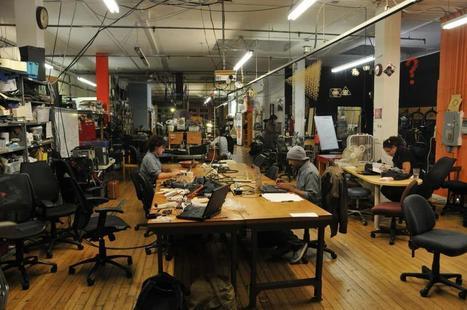 Portfolio : Génération makers: ils refont le monde   Economie Responsable et Consommation Collaborative   Scoop.it