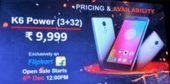 Lenovo K6 Power with Full HD Display & 4000mAh Battery Launched in India | Technology Gadget Reviews | Scoop.it