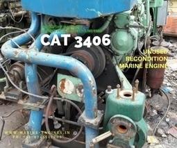 CAT 3406 Marine Auxiliary Engine | Marine Engines Motors and generators | Scoop.it