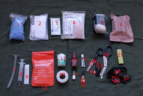 A Personal Wilderness First Aid Kit: What to include? | rock climbing gear | Scoop.it
