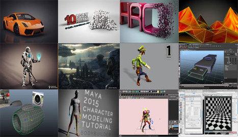 Download of various Cinema 4D and Maya 2015 Tutorial | 3d information 2013 | Scoop.it