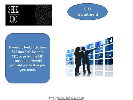 CIO Executive Search Firms, CIO Search Firms - Seekcio Ppt Presentation   CIO Recruiting Firm   Scoop.it