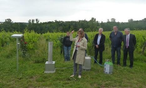 En Lot-et-Garonne, inauguration du réseau solidaire de lutte anti-grêle | Agriculture Aquitaine | Scoop.it