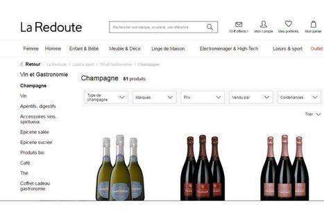 Et maintenant La Redoute vend du vin [Exclu LSA] | MarketPlace | Scoop.it