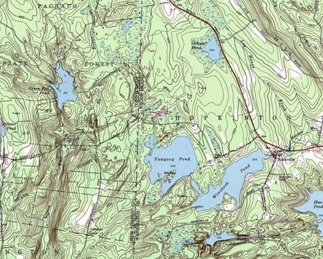 How to read and use a topographic map in a survival situation | Brian's Science and Technology | Scoop.it