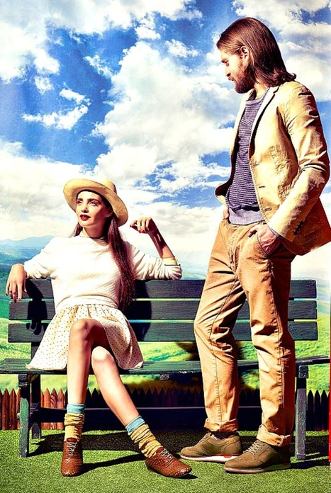 Barracuda Shoes Spring Summer 2013: vintage touch look | Fashion Hosiery | Scoop.it