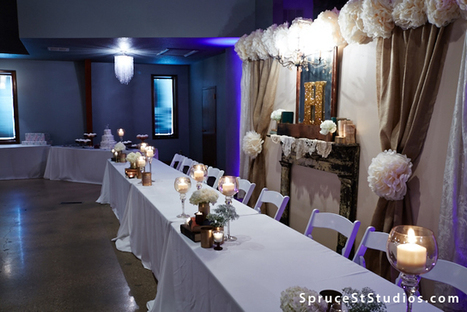 Spruce St Studios :: Events, Wedding Ceremonies & Receptions in Central IL | Awesome wedding destinations around the world | Scoop.it