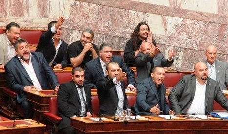 Golden Dawn - International Newsroom: Golden Dawn departs from Parliament | The Indigenous Uprising of the British Isles | Scoop.it