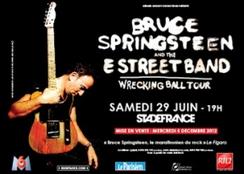 Bruce Springsteen à Paris en 2013 : les fans regrettentBercy | Bruce Springsteen | Scoop.it