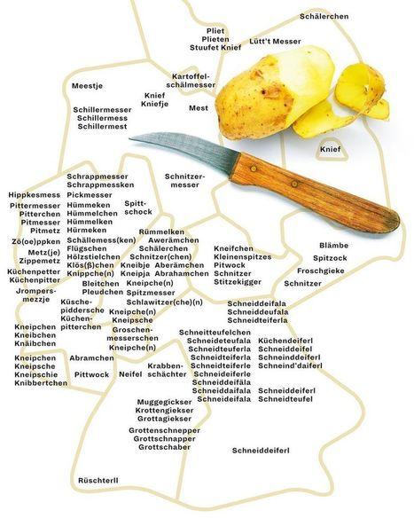 (DE) - Wie das kleine Küchenmesser genannt wird | FRIEDERIKE MILBRADT | Glossarissimo! | Scoop.it