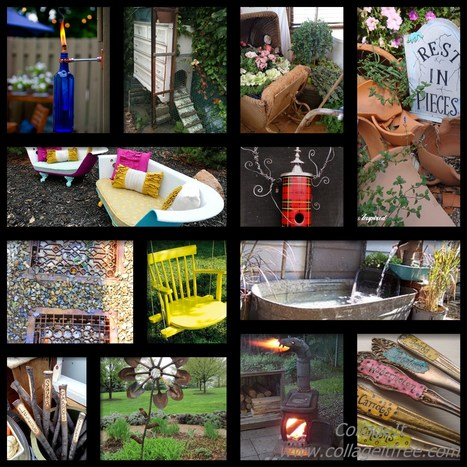 Gardens Upcycled | Junk Yard Love | Scoop.it