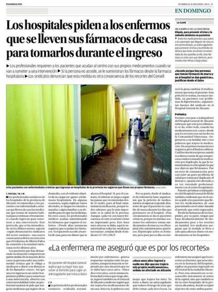 Hospitales en Valencia. Tweet from @carlosgomezgil | Partido Popular, una visión crítica | Scoop.it