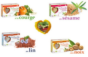 Tendances Nutrition: Des tartines craquantes sans gluten et riches en fibres (Emile Noel) | Bon et sans gluten | Scoop.it