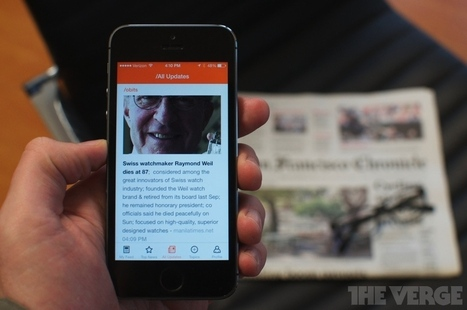 All in an update: Inside app aims to be the perfect mobile newspaper | SocialMedia_me | Scoop.it