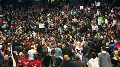 CBS reporter arrested at Trump rally: 'I've never seen anything like what I'm witnessing' | Educating & Enforcing Human Rights For We The People !! | Scoop.it