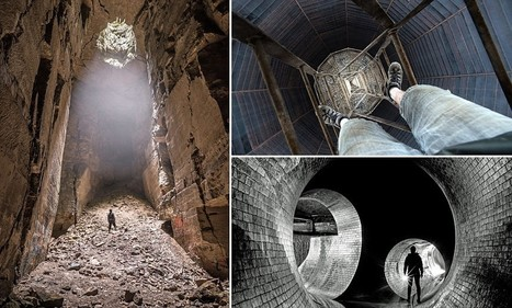 Britain's deepest darkest wonders: Photographer crawls through sewers and mine shafts to capture eerie underground images | British Genealogy | Scoop.it