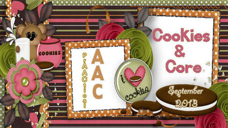 Literacy: Cookies & Core - PrAACtical AAC | Supports for language ... | Kate Ahern AAC | Scoop.it